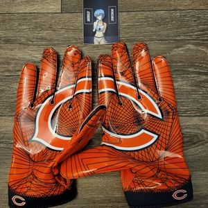 Nike Superbad 4 Chicago Bears On Field Gloves 3XL